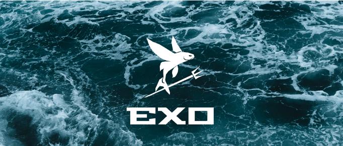 """A logo for """"EXO"""" my Hobie16 Catamaran"""